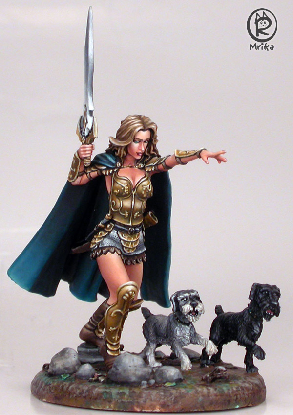 The Last Charge of Melissa and her Immortal Schnauzers