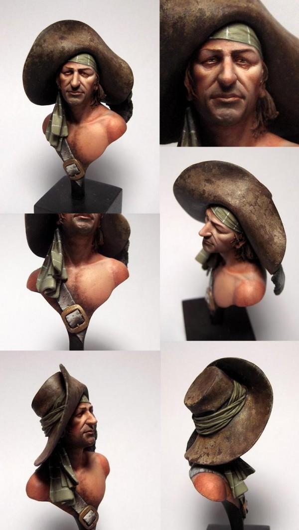 Buste de pirate