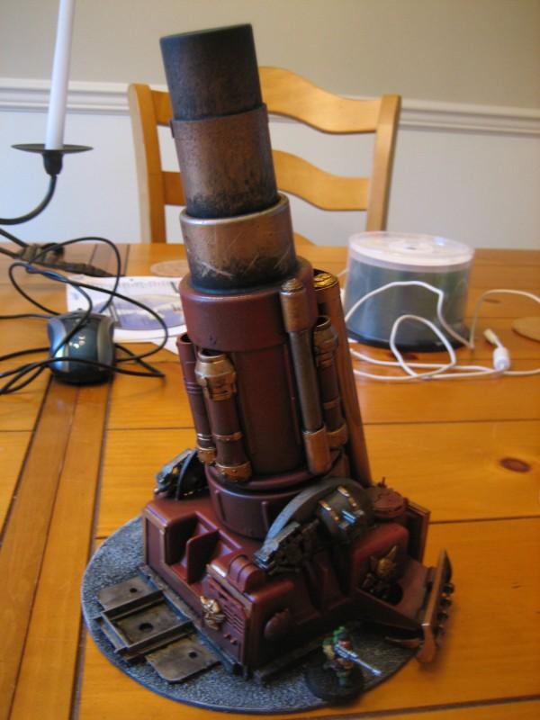 Squat Goliath Mega Cannon (28mm scale)