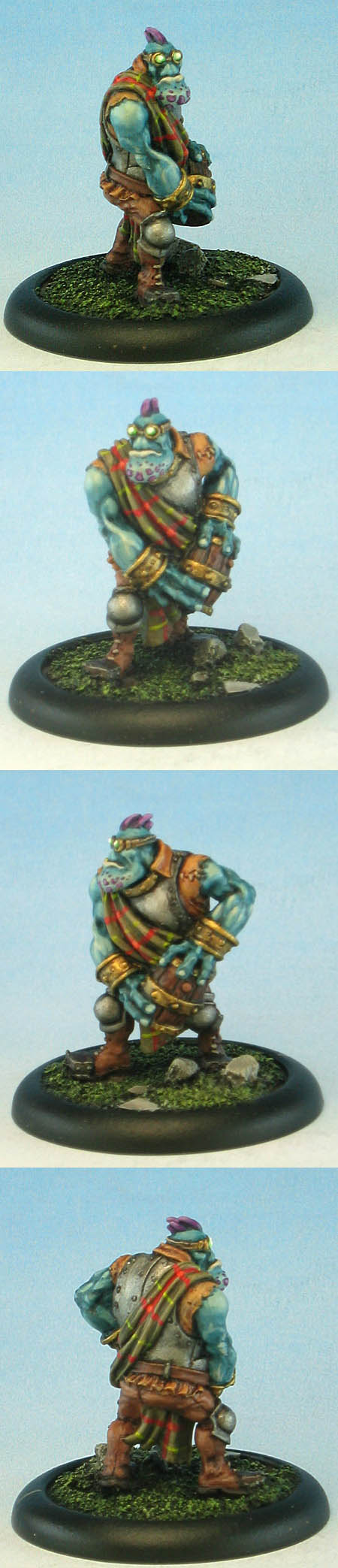 Trollblood Thumper Crew - Crewman with Powder