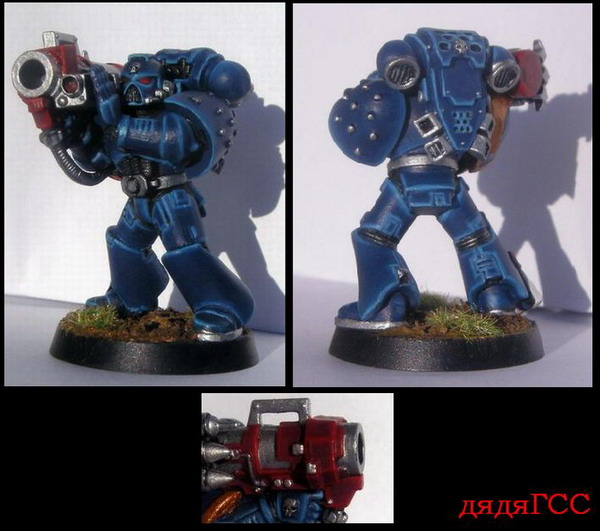 Ultramarine with Missile Launcher (for game)