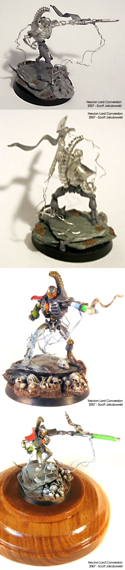 Necron Lord with Lightning Field and Warscythe