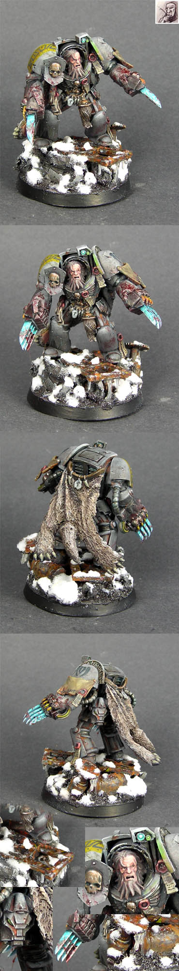 Space Wolf Space Marine Terminator Lord