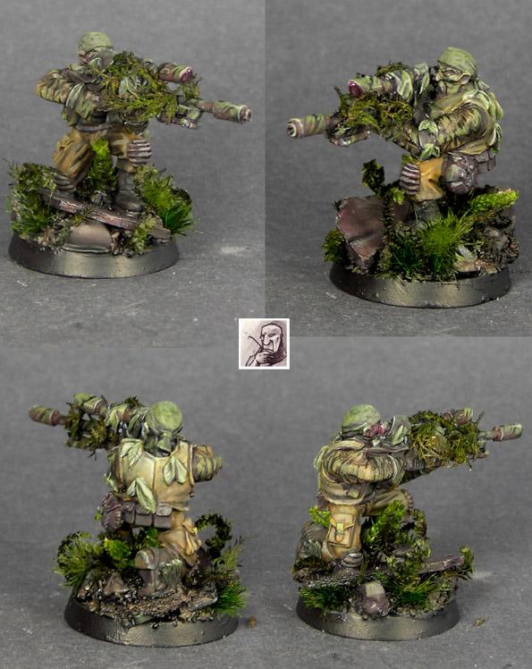 Imperial Guard Catachan Sniper
