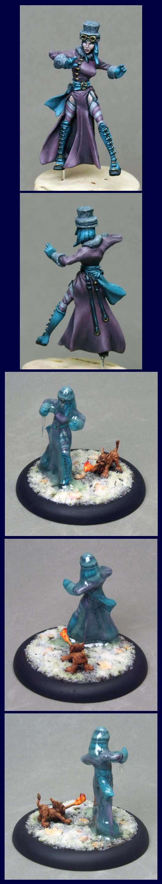 Rasputina, Ice Witch, and Lion Familiar