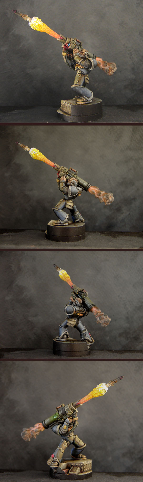 Space Marine with missle launcher