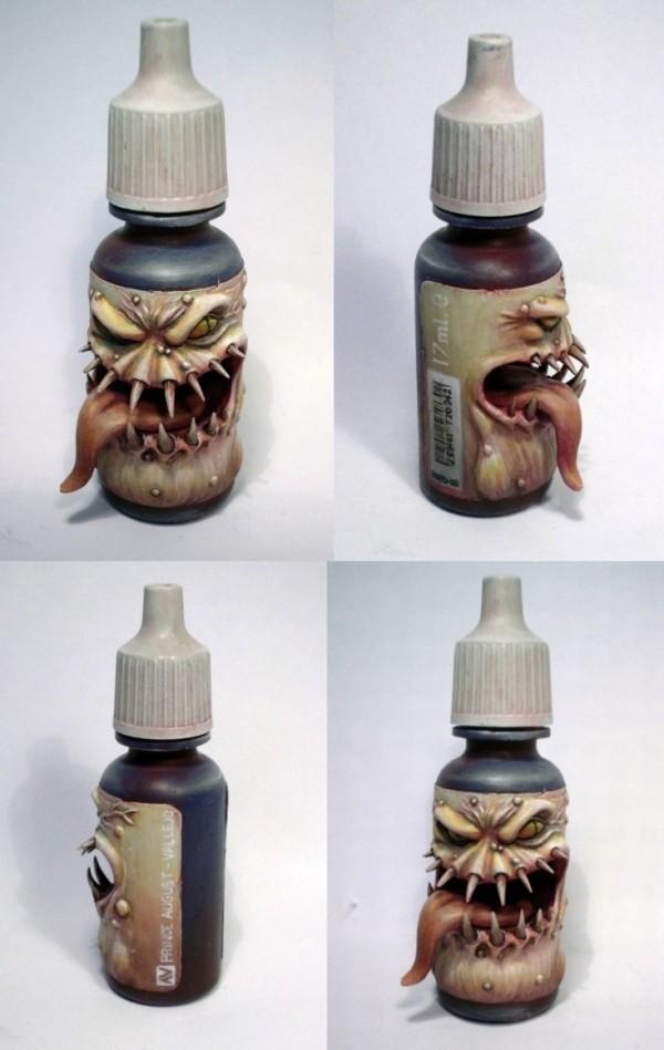 Bottlemonster (painted version)