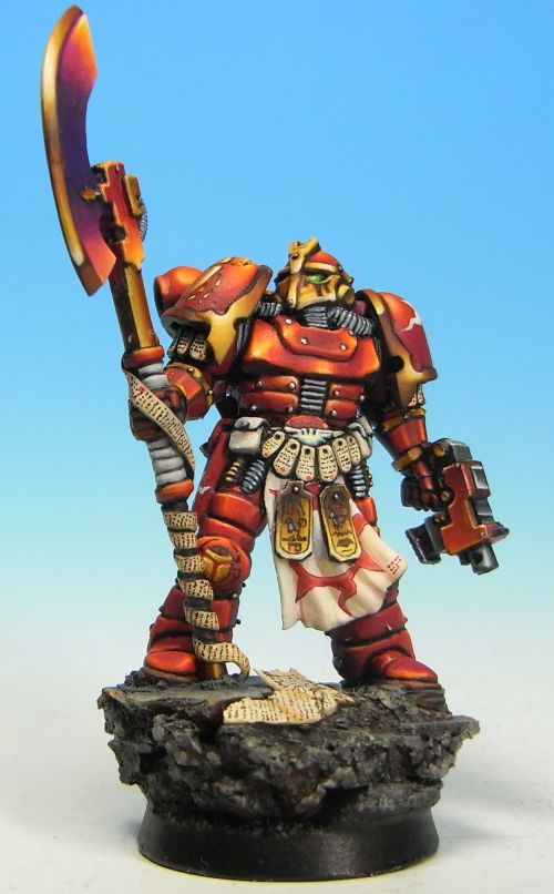 Pre-heresy Thousand Sons Marine