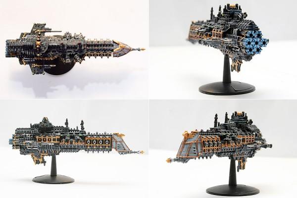 BFG Imperial Lunar Class Cruiser