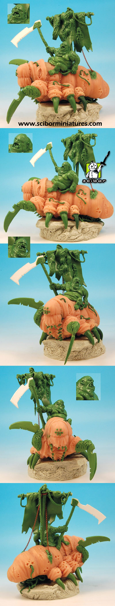 Plage Lord Greenstuff Sculpture