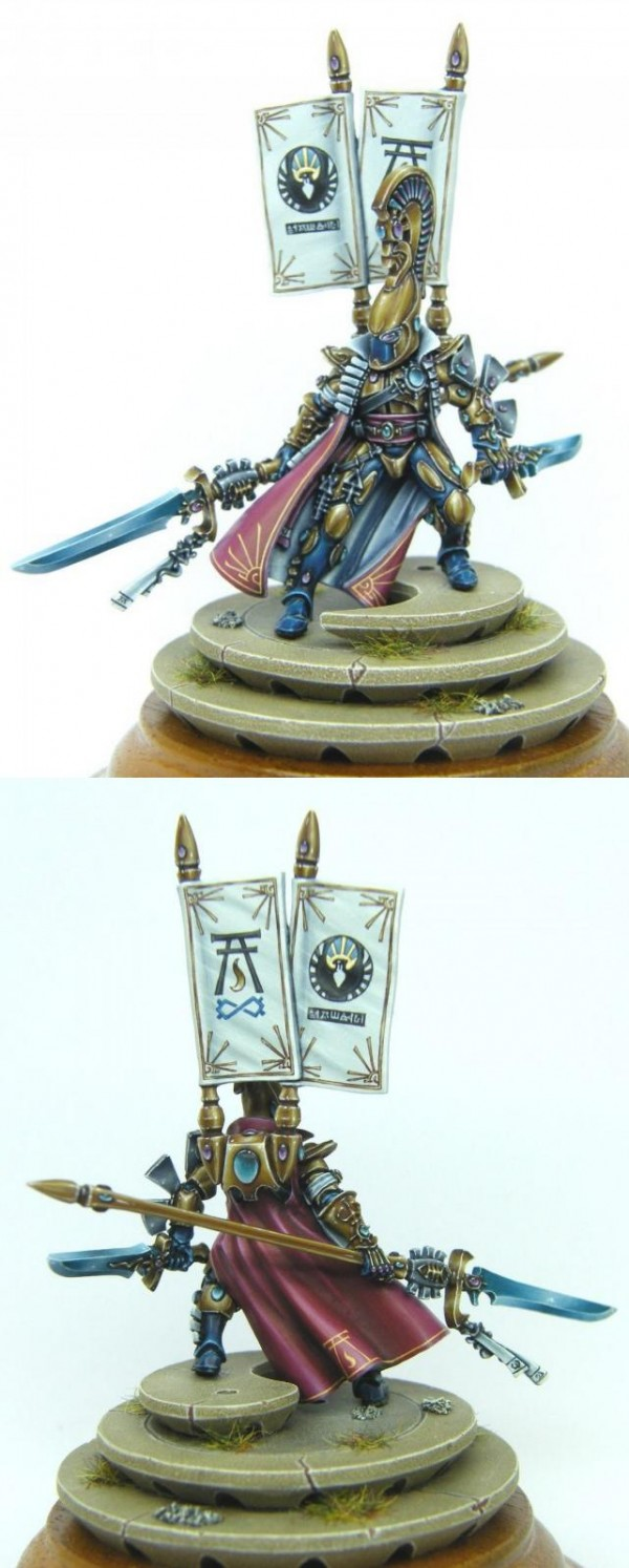Prince Yriel of Iyanden (close ups)