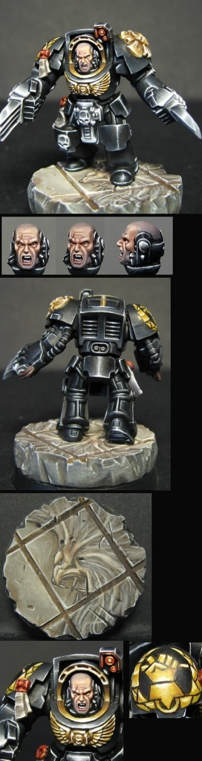 Hammers of Dorn terminator (with a new base)