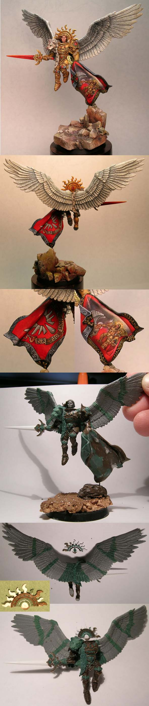 Sanguinius Primarch of The Blood Angels