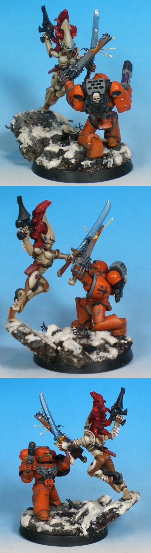 Duel: Howling Banshee vs. Space Marine Sergeant (Chicago GD 08 Hon. Mention)