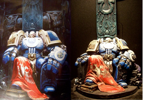 Marneus Calgar Art/Model Comparison