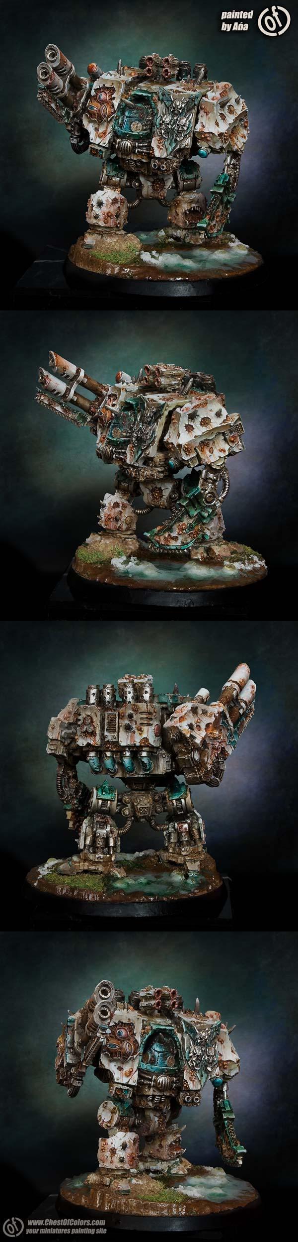 Death Guard Dreadnought of Nurgle