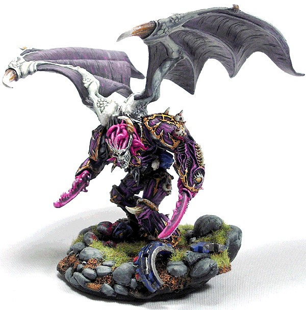 Slaanesh Daemon Prince Conversion Daemon Prince Conversion of