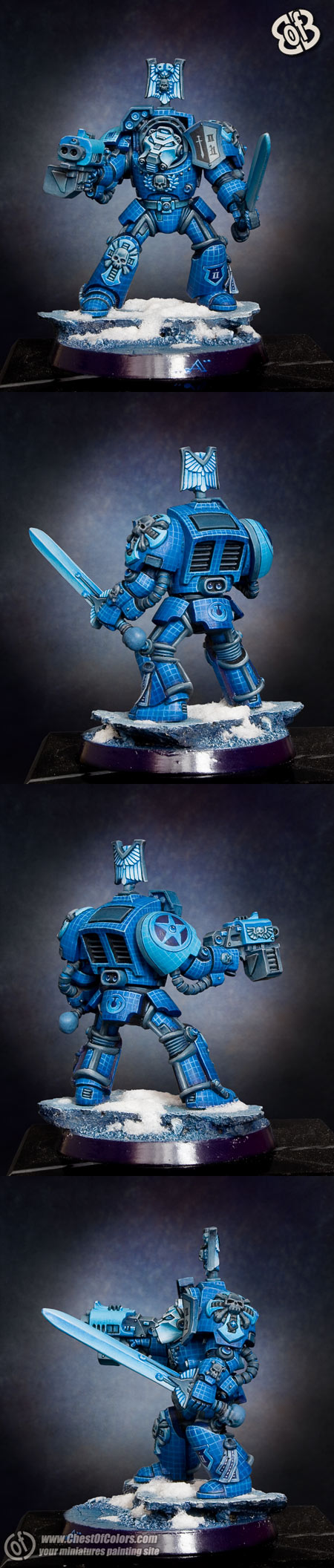 Space Marines Terminator Captain