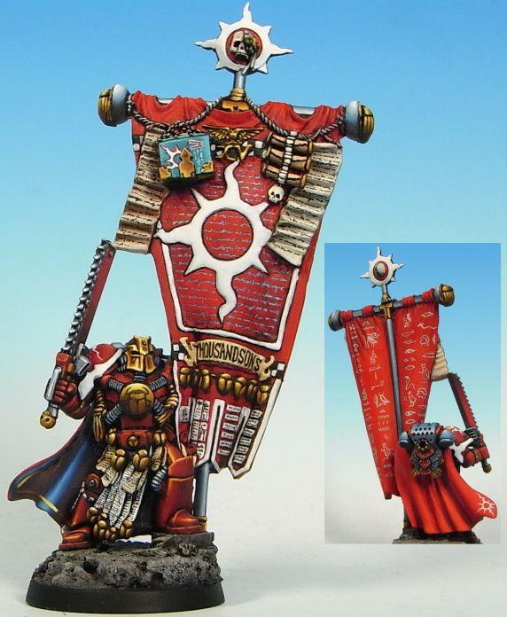 Pre-heresy Thousand Sons Marine, Standard Bearer