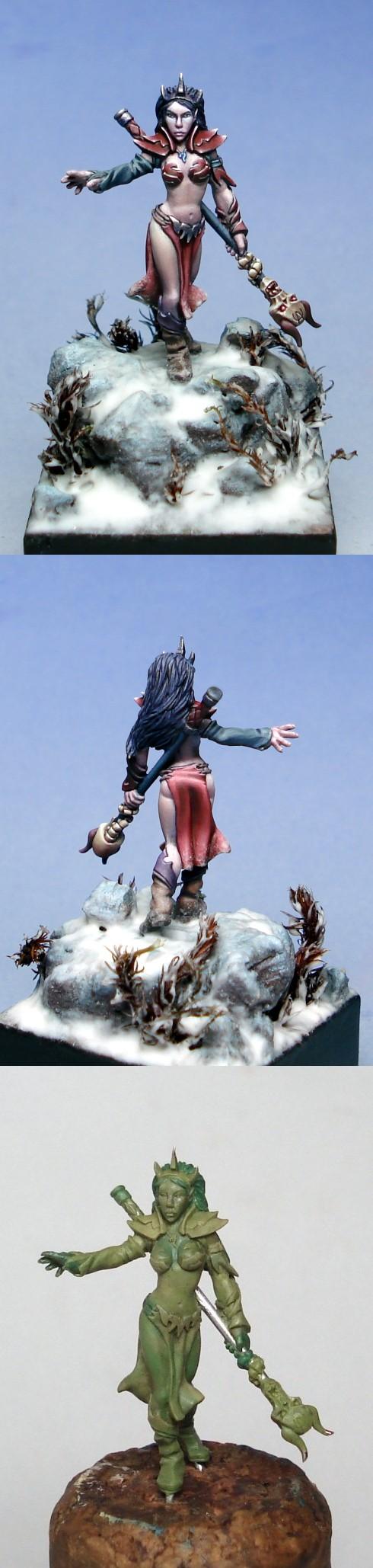 Mae'viir, Dark Elf Sorceress