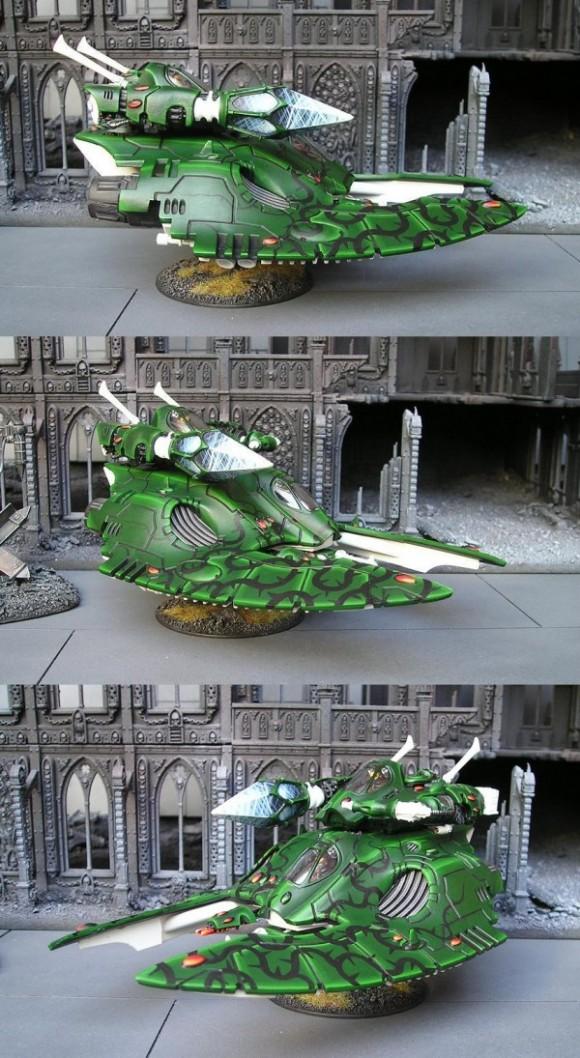 Eldar Fire Prism Grav Tank