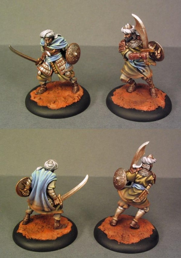 Hell Dorado -  Combattants sanctifiés