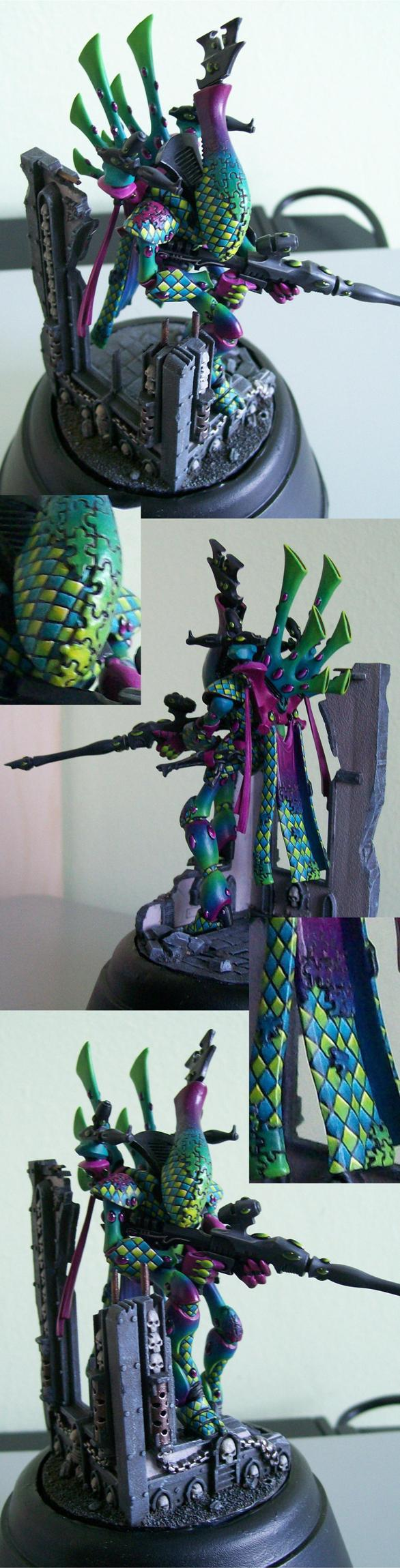 eldar wraithlord jigsaw harlequin