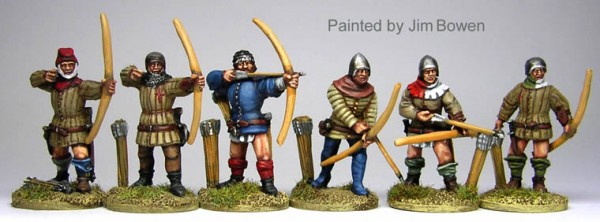 coolminiornot english longbow men hundred years war by