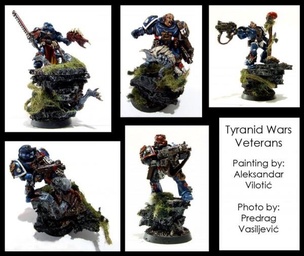 Tyranid war veterans