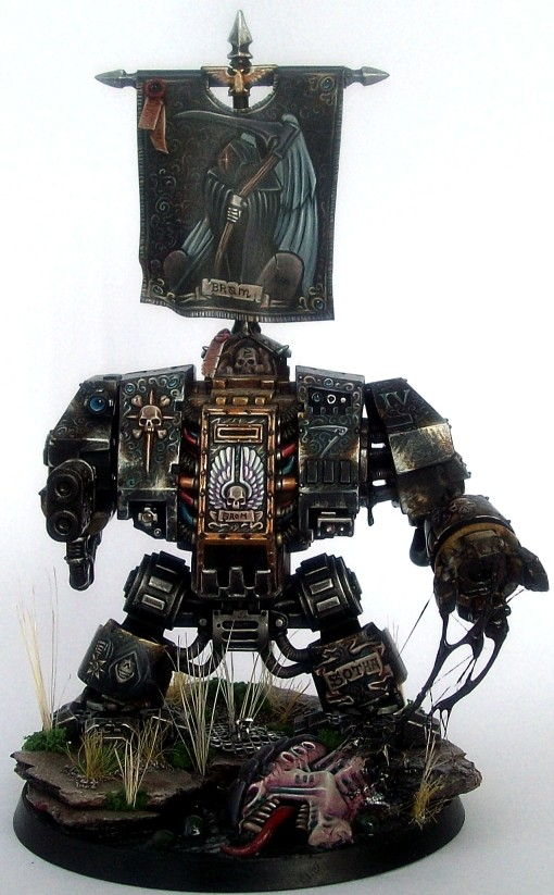 Brother Dreadnought Brom of the Scythes of the Emperor