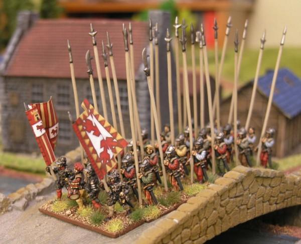 Spanish Tercio s. XVI 15mm VENEXIA miniatures