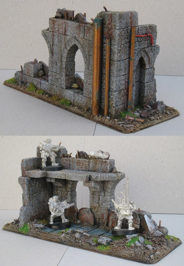 Industrial-Gothic Ruined Corner