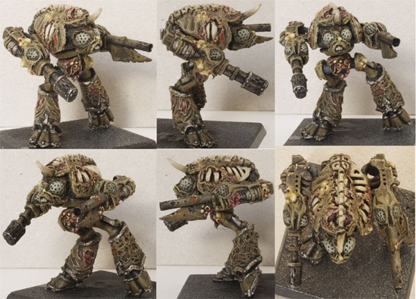 CoolMiniOrNot - Converted Epic scale Nurgle Warhound Titan by
