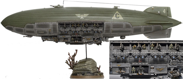 CoolMiniOrNot - Epic scale Krieg Armoured Airship by