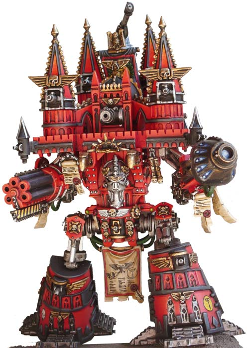 CoolMiniOrNot - Epic scale Imperator Titan by Warmaster Nice