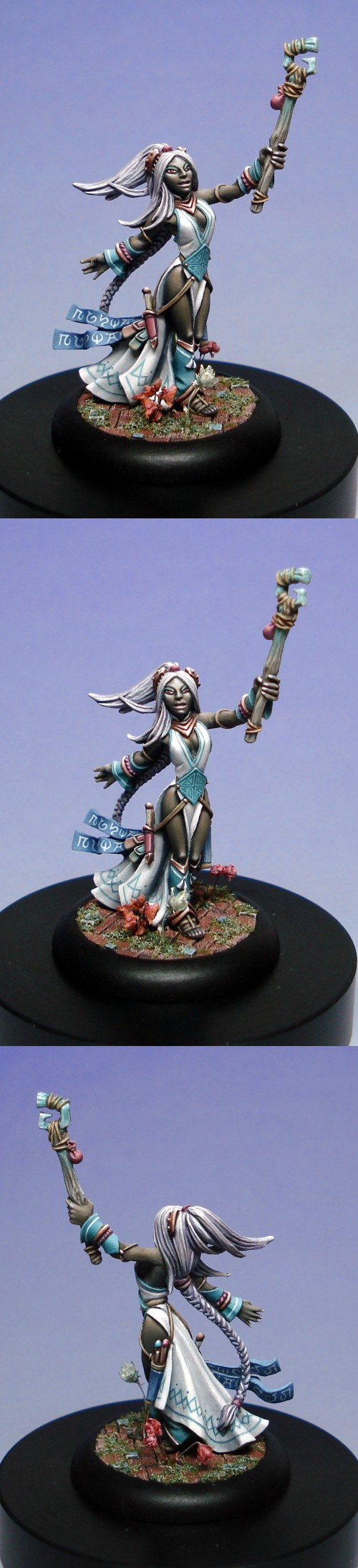 Sylphie - benevolent drow priestess