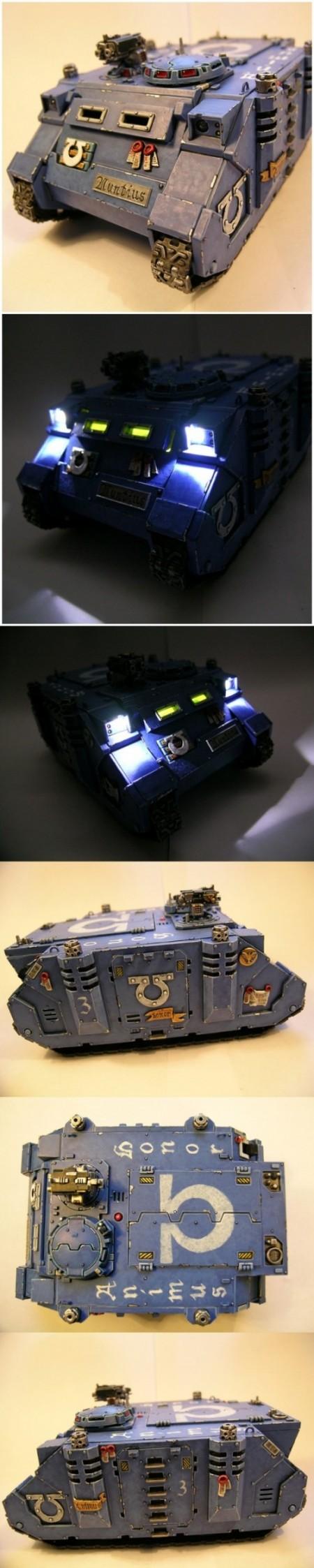 Space Marine: Rino 'Nuntius' Ultramarines of the day and night