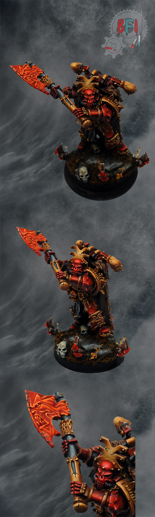 Lord of Khorne with Demonic Axe
