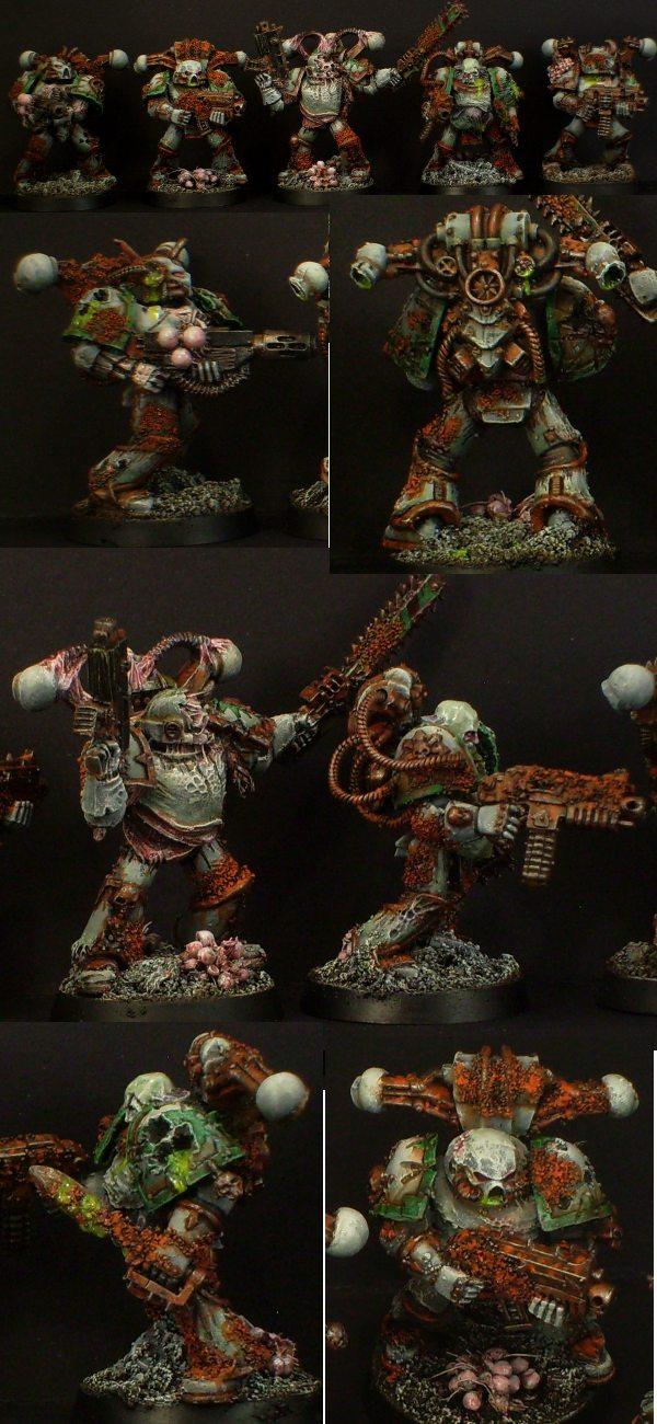 Death Guard Plague Marines Unit 2