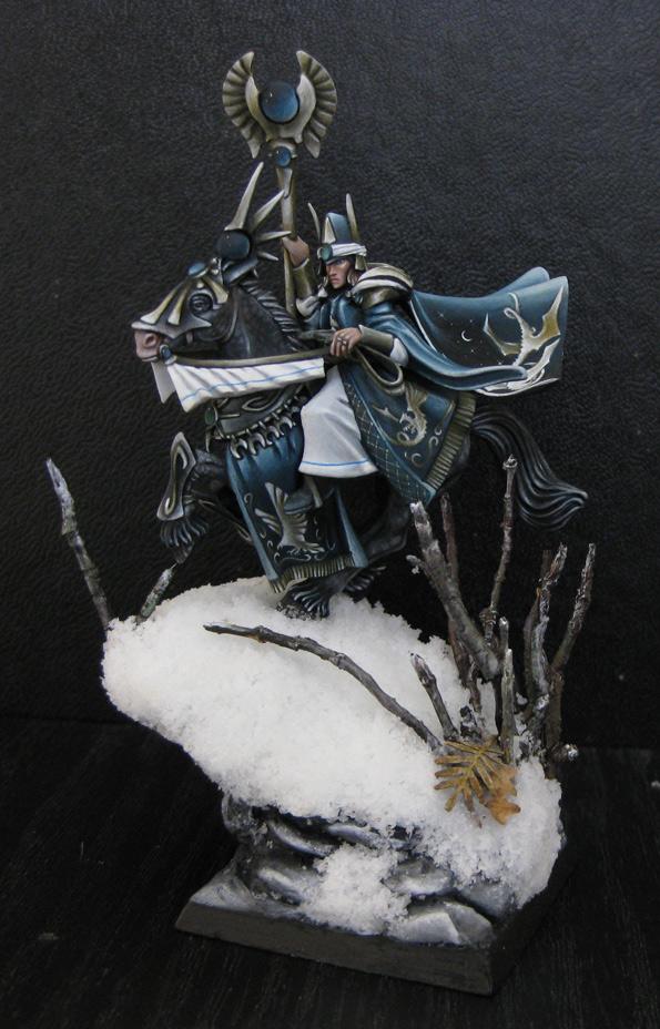 Mounted High Elf Mage II