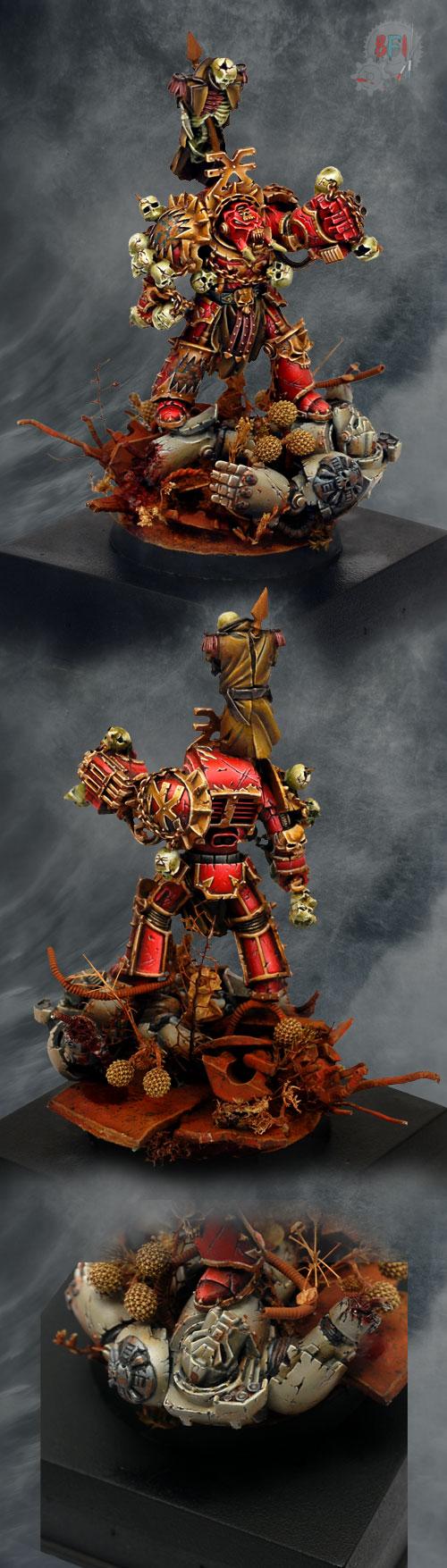 Khorne Terminator Lord Zhufor ForgeWorld