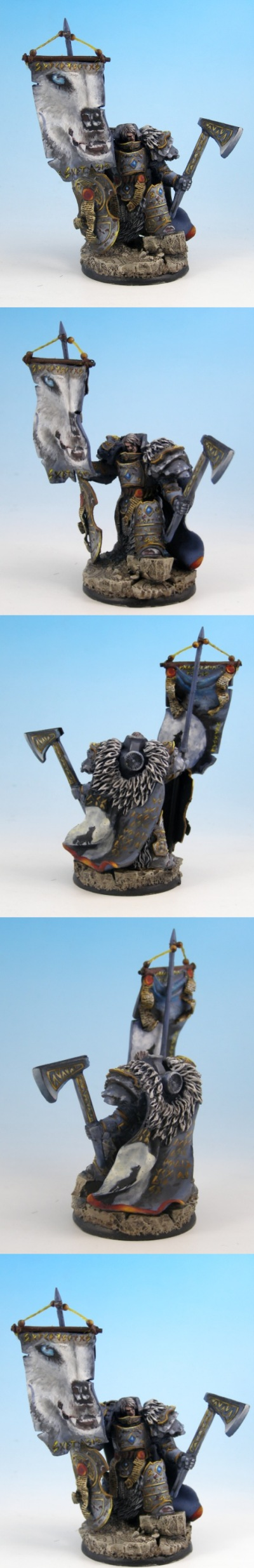 28mm / 30mm SF Celtic Warrior conversion / sculpture By Scibor