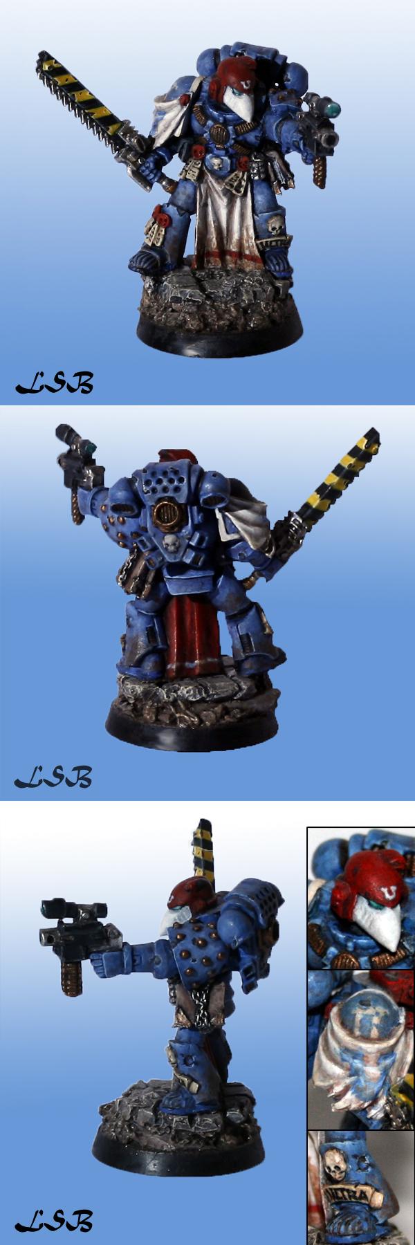 Ultramarine Veteran Sergeant 1.1