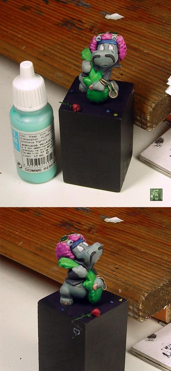Happy Hippo repaint
