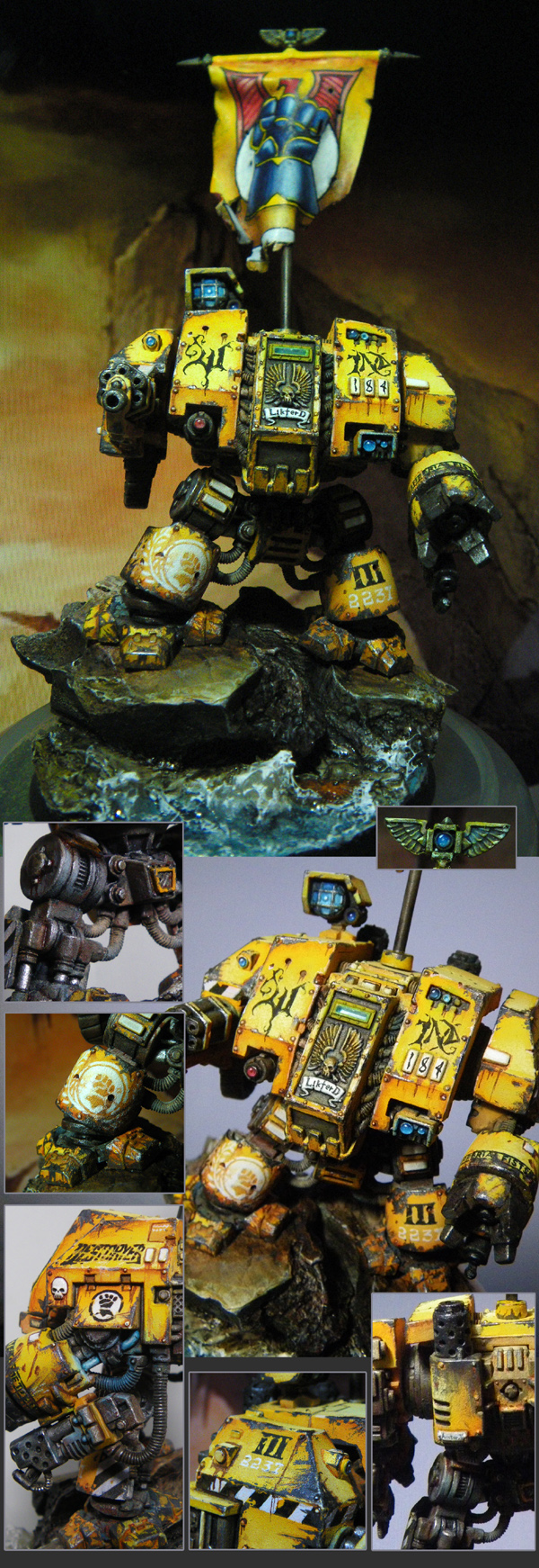 ImperialFists Dreadnought