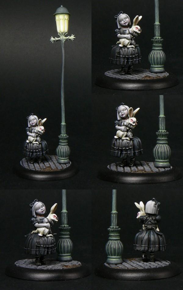 LITTLE ALICE, a gothic interpretation