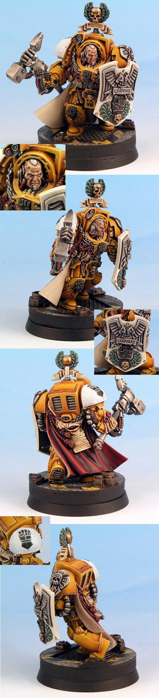 Imperial Fist Captain Lysander