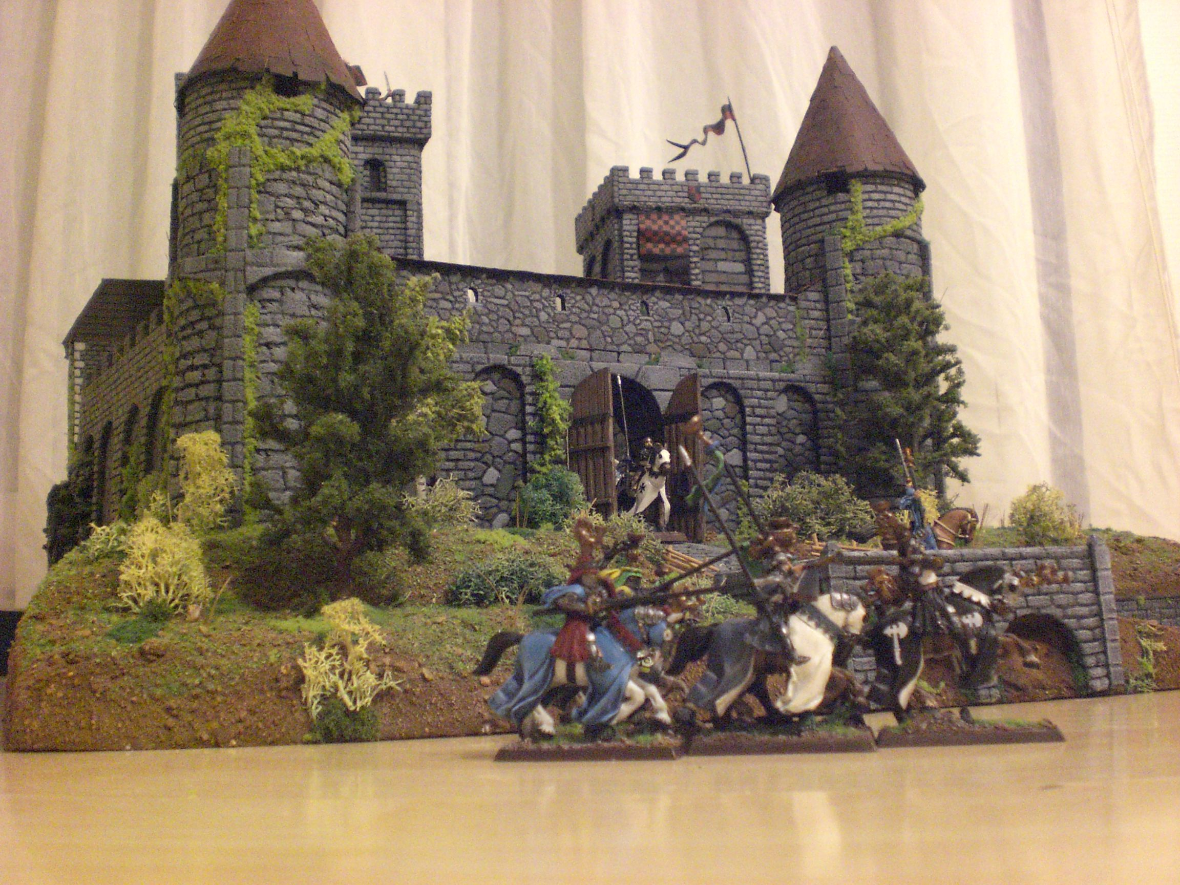 Coolminiornot Bretonnian Castle By Lapin Rouge