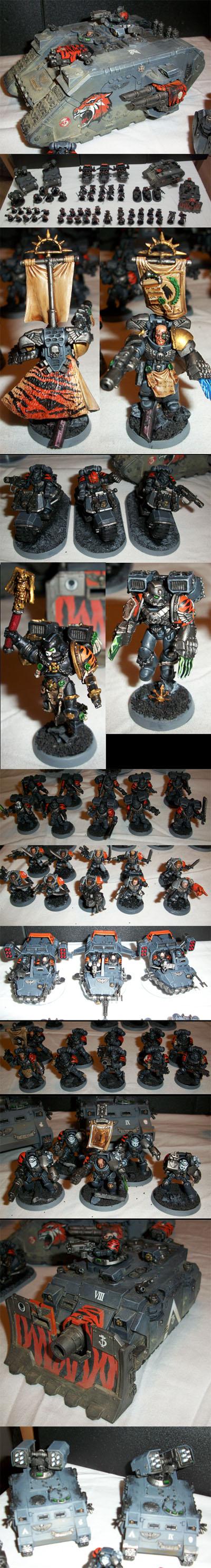 Iron Tigers Space Marine Army
