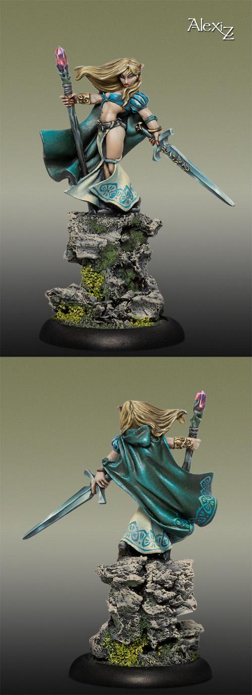 Alastria, Elf Sorceress
